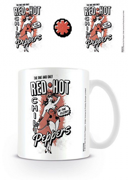 Red Hot Chili Peppers Devil Girl Mug